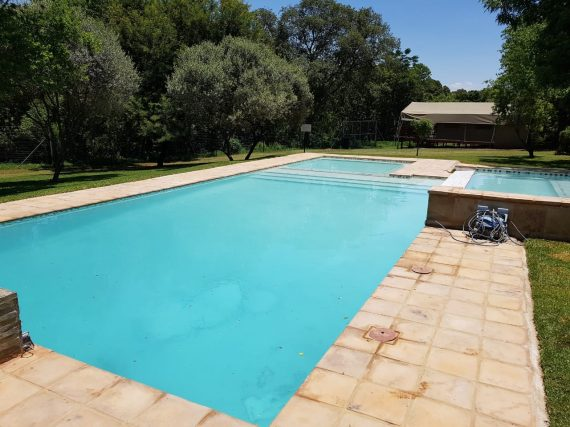 Swimming pool paving blocks 330 x 330 x 50