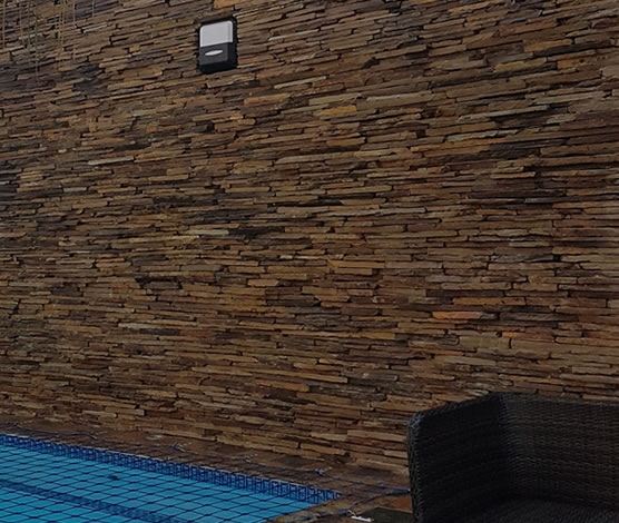 Slate Strip Walling