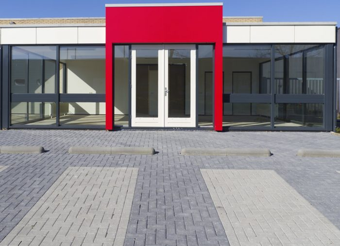 Commercial Bevel Pavers
