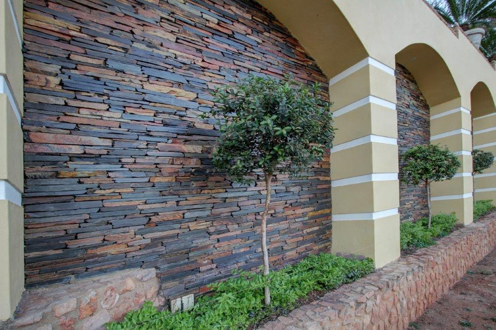 Rich Autumn Strip Walling