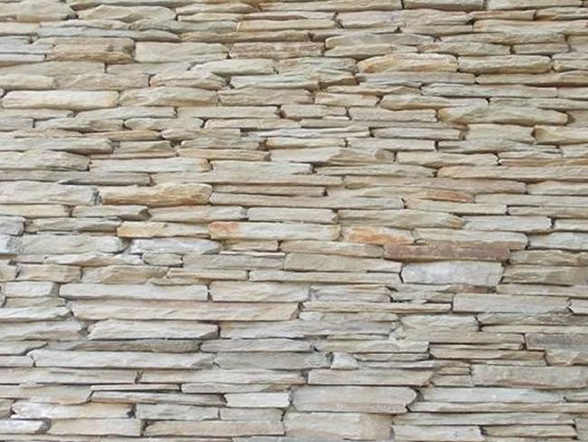 Quartzite Strip Walling