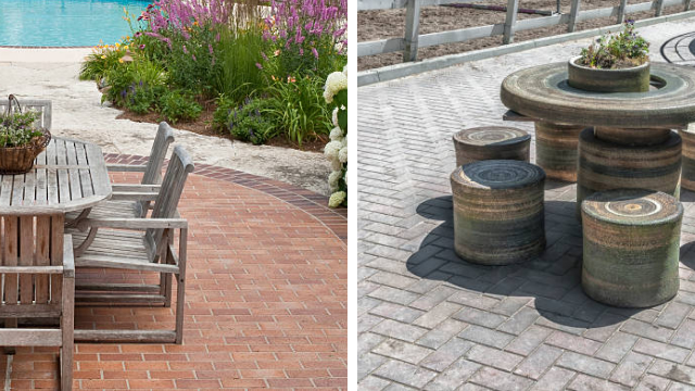 Patio paving design ideas